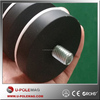 POT01-42 NdFeB rubber coating magnets /Neodymium Holding magnets/rubber coated magnets with 25 kg pull force