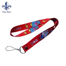 china manufacturer factory wholesale custom promotion neck printed polyester lanyard