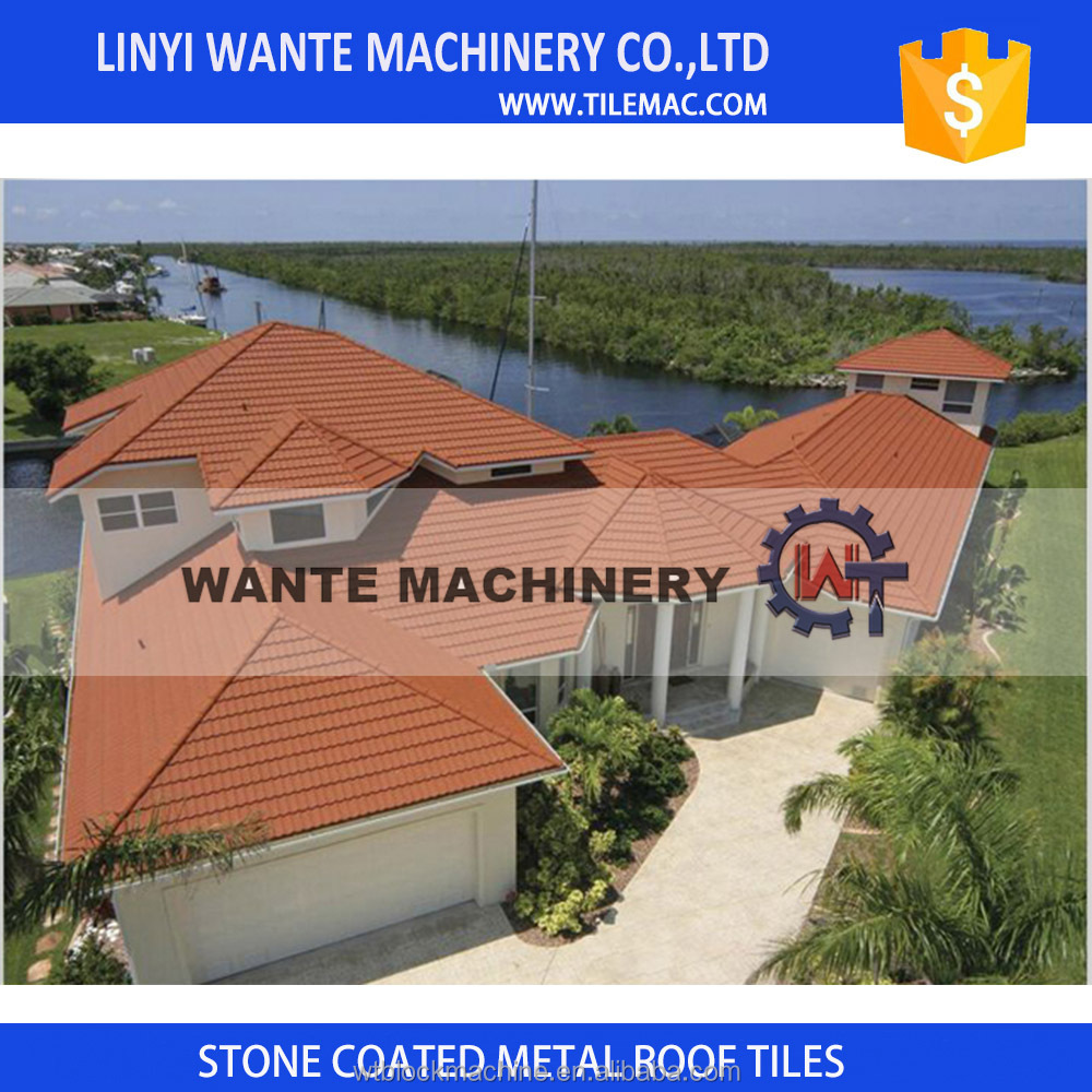 Galvanized Roofing Sheet,Colorful Stone coated metal roof tile