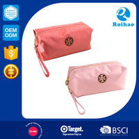 Manufacturer 2016 Hot Sales Superior Quality Red Cosmetic Bag