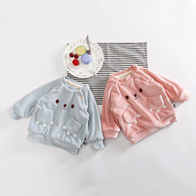 Wholesale Cute Casual Style Kids Knitted Pullover Sweater Unique Baby Sweater Design