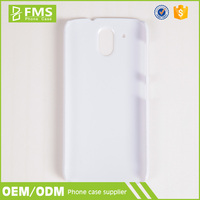 FMS Lenovo A706 Hard Plastic Back Cover Plain White Phone Case