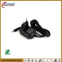 12V 0.5A female to male electrical plug adapter 5V 1A laptop power adapter USB output and DC cable 5.1mm jack Euro type plug