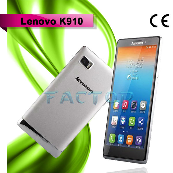 5.5 Inch FHD Screen 2GB 16GB Android Quad Band Dual Sim Cell Phone Unlocked Lenovo K910 Vibe Z