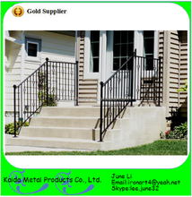 lowes modern wrought iron outdoor metal handrails for outdoor porch steps stairs