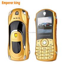 newmind F3 Russian,Spanish Quad-band GSM Dual SIM bar low price small size mini supercar car key model cell mobile phone