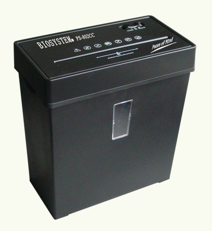 Biosystem Personal Use Shredder - PS802CC (cross cut)