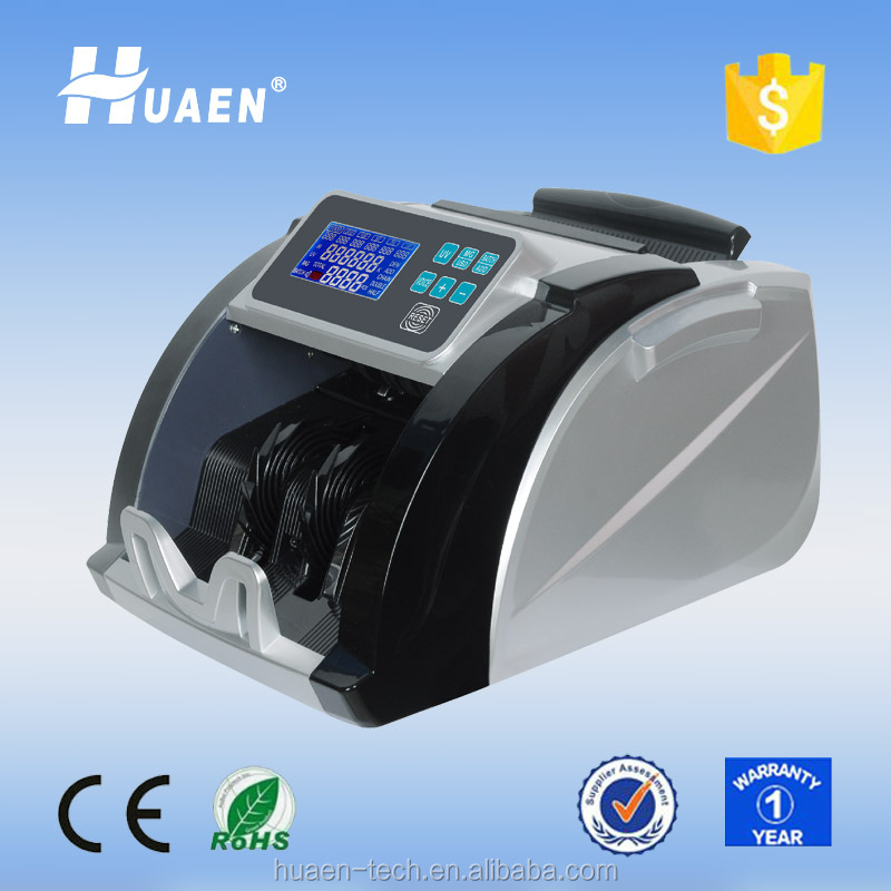 Suitable for new Indian Rupee 500,2000!! Change to RED Lcd display note currency counting machine money counter and detector