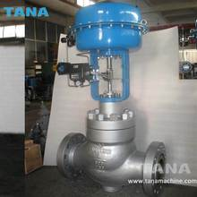 Cage single-seat globe steam control valves