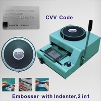 2 in 1 Combo Embosser and Indenter for Pvc Card