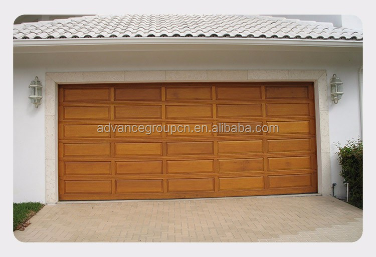 Competive price steel standard garage gate sectional for 18 x 7 garage door prices