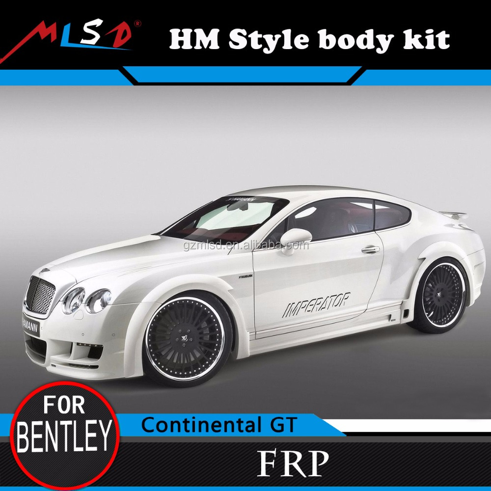 Auto Car Bumper HM Style High Quality FRP Material Body Kits for Bentley Continental GT