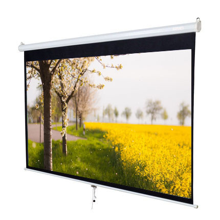 3m cleaning meeting room projector screen