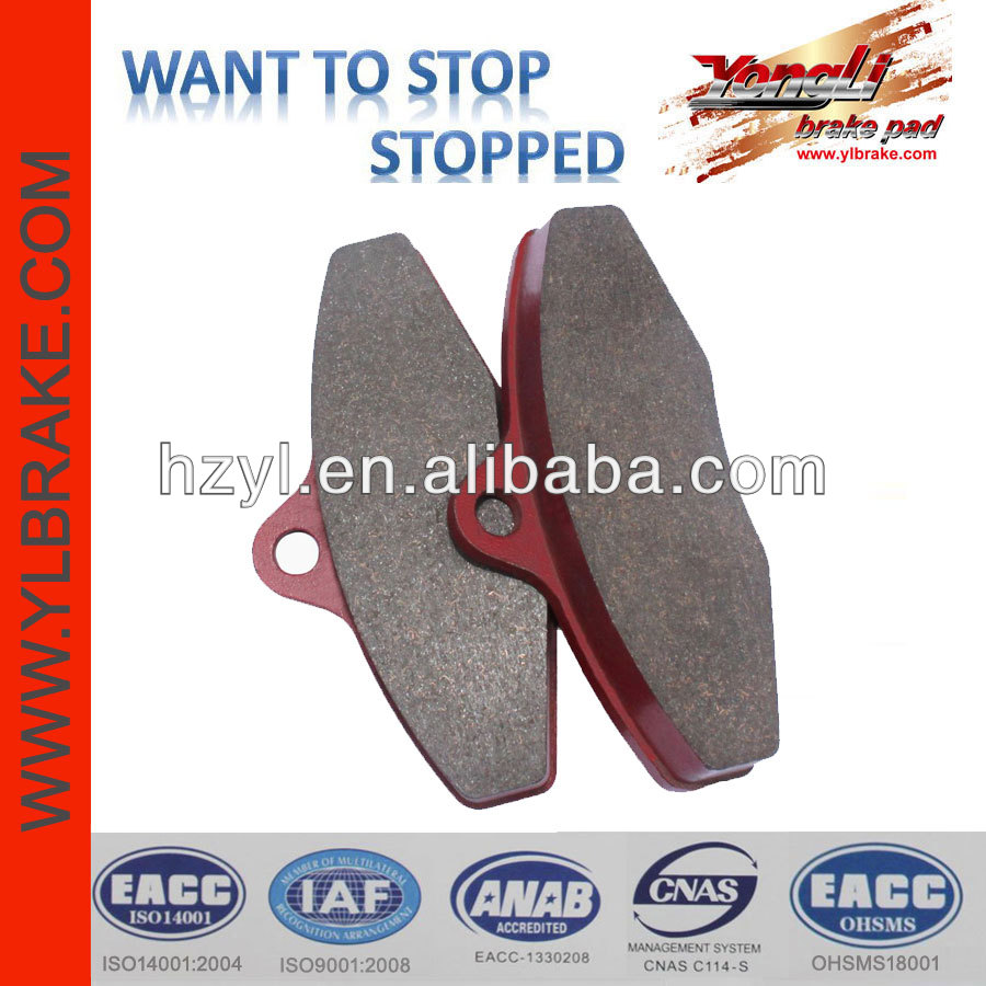 Semi-metallic brake pads for off road go karts for sale