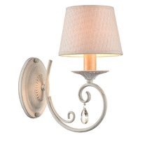 Modern Wall Mounted Lighting Ceramic Metal Fabric E14 Bulb Crystal <strong>LED</strong> Bed Wall Lamp