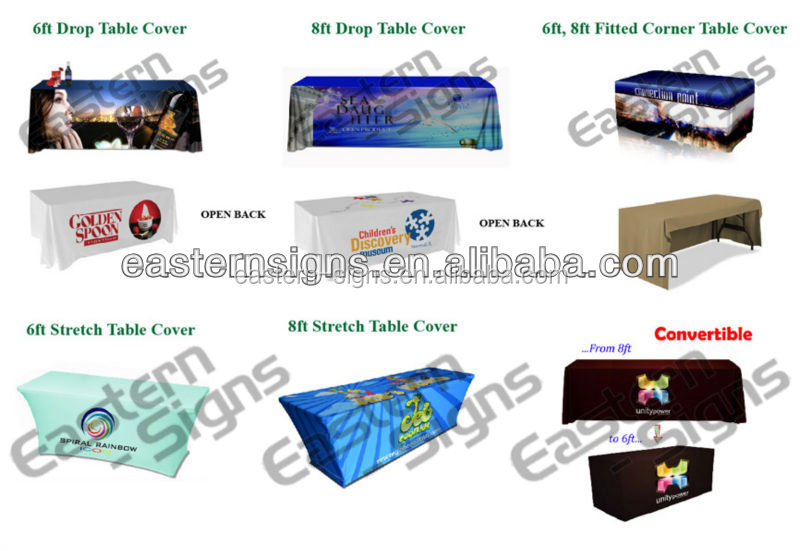 Printed wedding decoration tablecloth