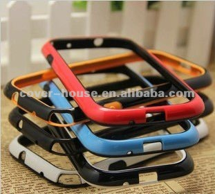 For samsung galaxy s3 bumper case with hight high quality