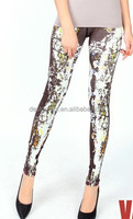 custom velvet leggingsdecorative legging, muscle elegance