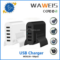 Portable power bank supply 5 ports usb charger 5v 10a for mobile phone