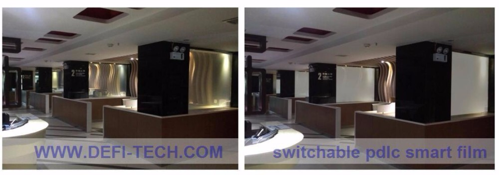 lowest price PDLC Self-Adhesive Smart Film With Switchable