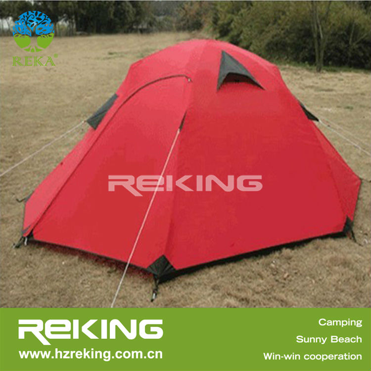 Red China 2 person Family Tent