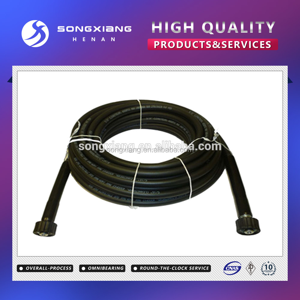 2015 Flexible Hydraulic Hose for Loader , Hydraulic Hose assembly With Fitting