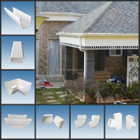 High quality PVC Rain Gutter(Gutter & Fittings)
