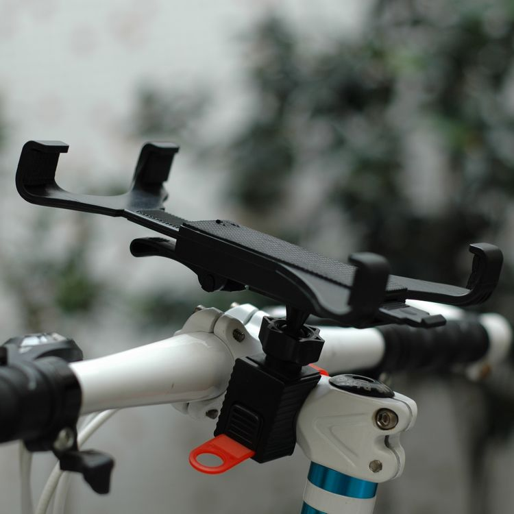 Adjustable Clamp Bicycle Handlebar Mount Bike Stand Holder for iPad Air 2