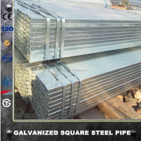 Tianjin factory-013 EN10217 150mm pipe diameter gi pipe galvanized square steel tube