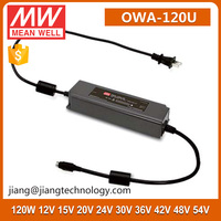 Meanwell Constant Voltage 30V 4A LED Moistureproof Adaptor 120W OWA-120U-30