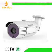 IP67 bullet waterproof aluminum CCTV camera housing with wiper cctv camera case factory price
