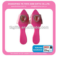 plastic princess shoes for girls