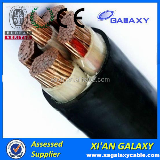 XLPE underground Power types of cable specification Cooper cable price per meter