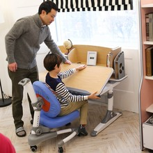 adjustable height children desk and chair HY-E120