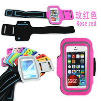 Wholesale cell phone accessory armband case for iphone 5s running case