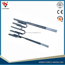 High Quality U-Type MoSi2 Heating Element+wjl shape mosi2 heater rod+best quality mosi2 calefaction stick