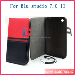 Case For Blu Studio 7.0 II, High Quality Leather Flip Case Cover For Blu Studio 7.0 II