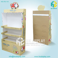 living goods accessories cardboard perfume display stand