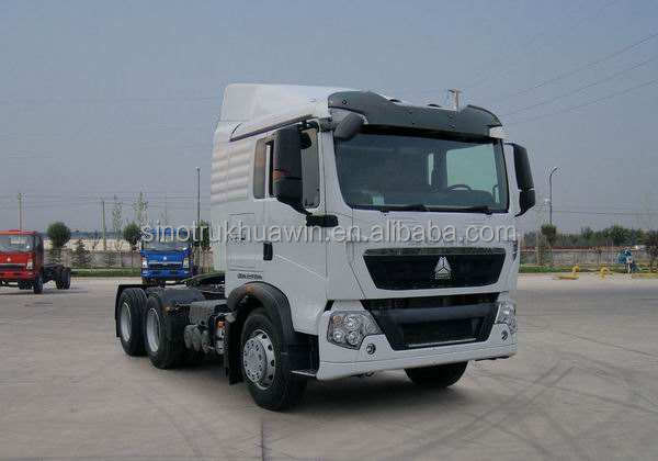 High quality Man Diesel SINOTRUK HOWO T5G 6*4 340HP Tractor Truck for sale