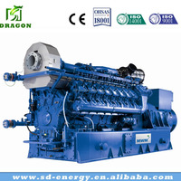 gas generator set with soundproof canopy For Sale