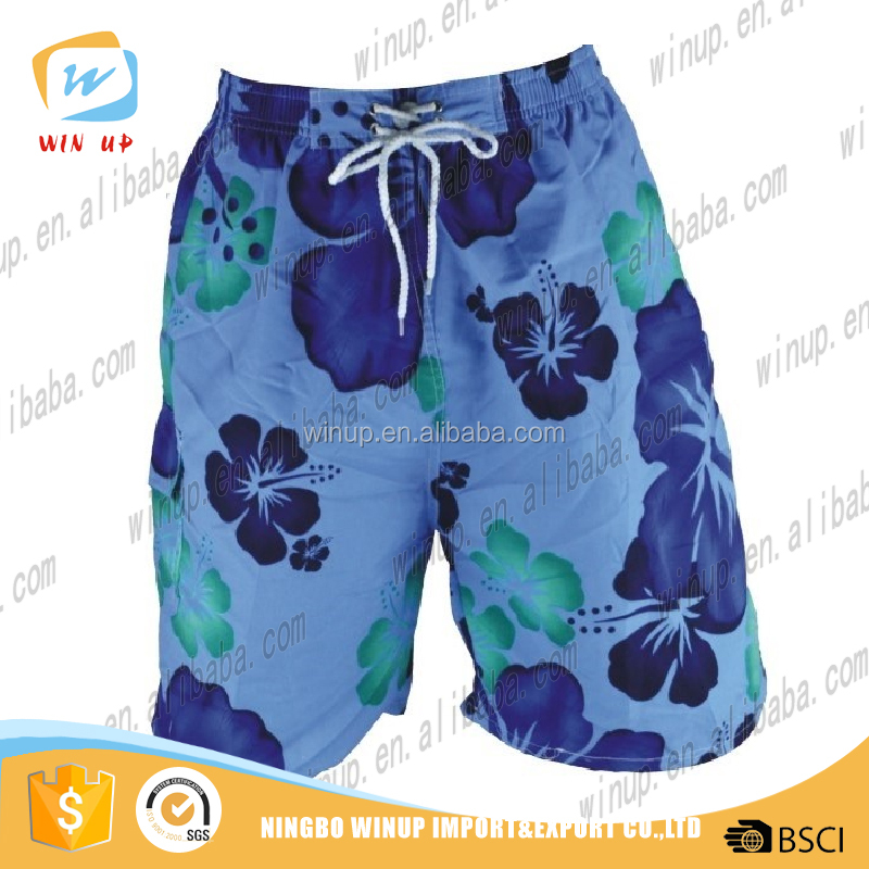 wholesale 2016 New mens board shorts 100% polyester sweat pants
