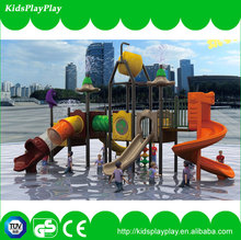 Durable kids outdoor play equipment slides/kids game