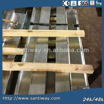 decorative galvanized steel profile/steel structure in Chinese factory