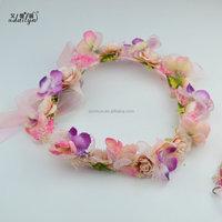 Dried Flower Headband Flower Crown Garland Tiara Wedding