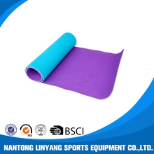 Customized best selling recycled yoga mat tpe