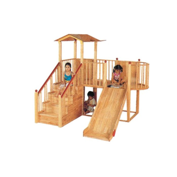 New Design modern school solid wood furniture play ground For Wholesale