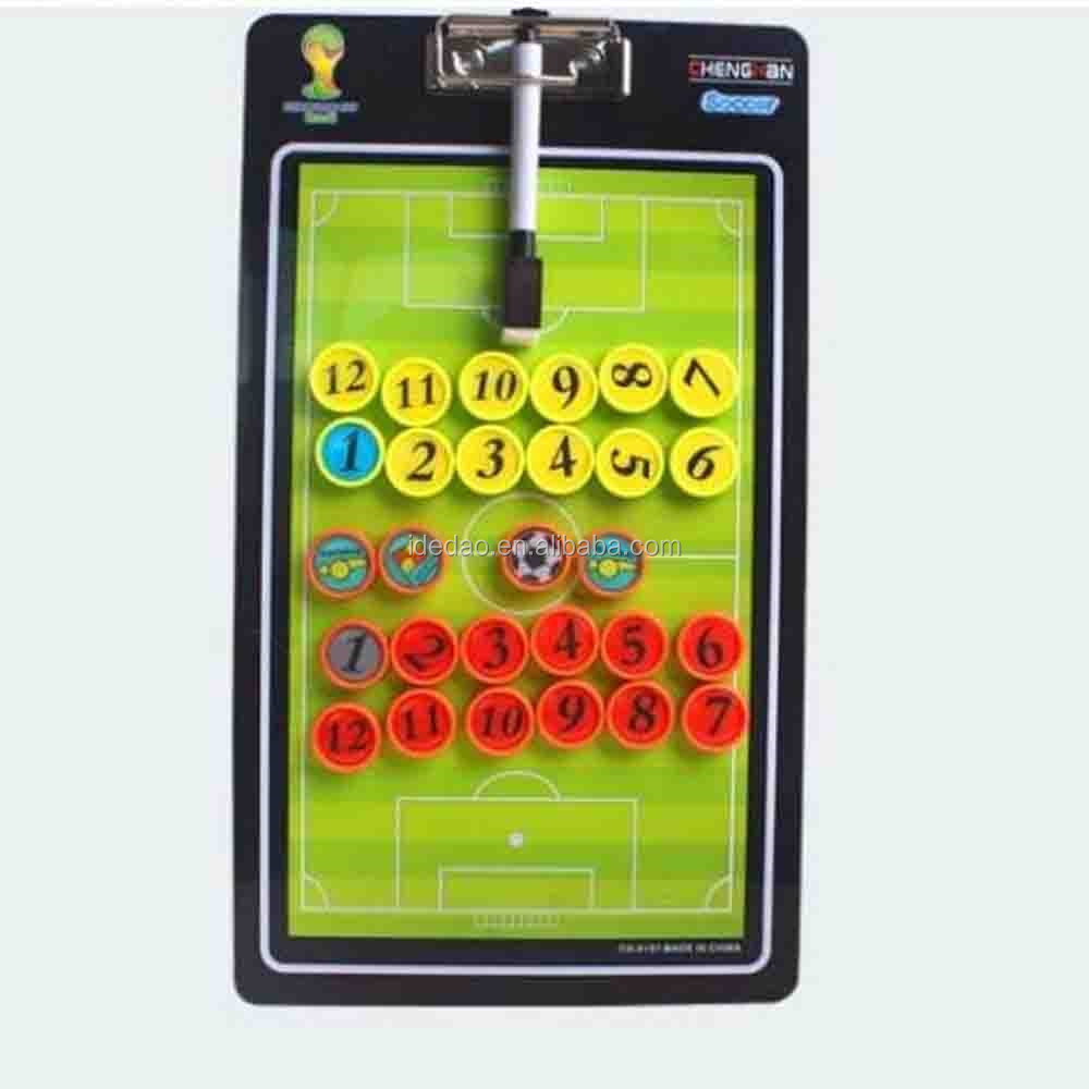 Plastic Soccer Training Coach Clip Tactic Board handball tactic board football tactic board