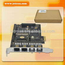 PCI-E(PCI Express) card , digital card TE220,full compatible with Digium TE220