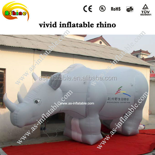 giant advertising inflatable animal model inflatable rhino