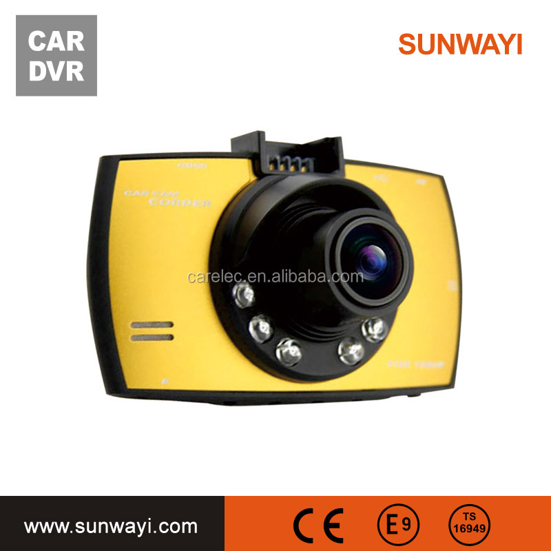 Novatek 96658 HD 1080P Dash Cams, Night Vision LED, Support 32GB Memory TF Card